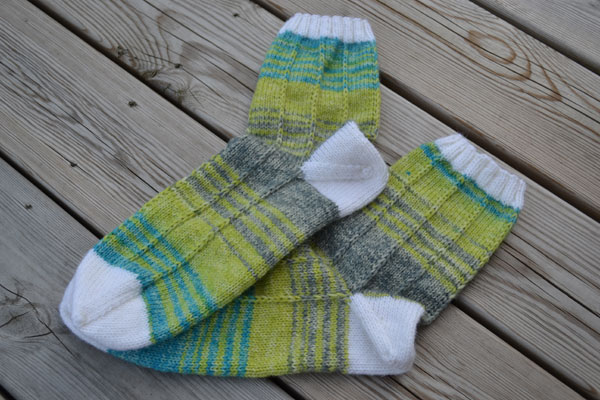 Pinstripe-socks