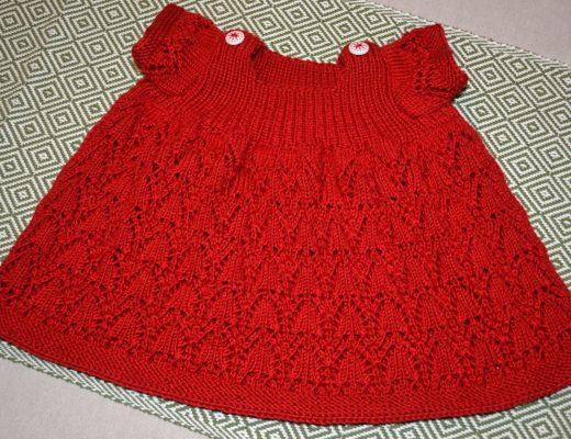 klänning stickad
