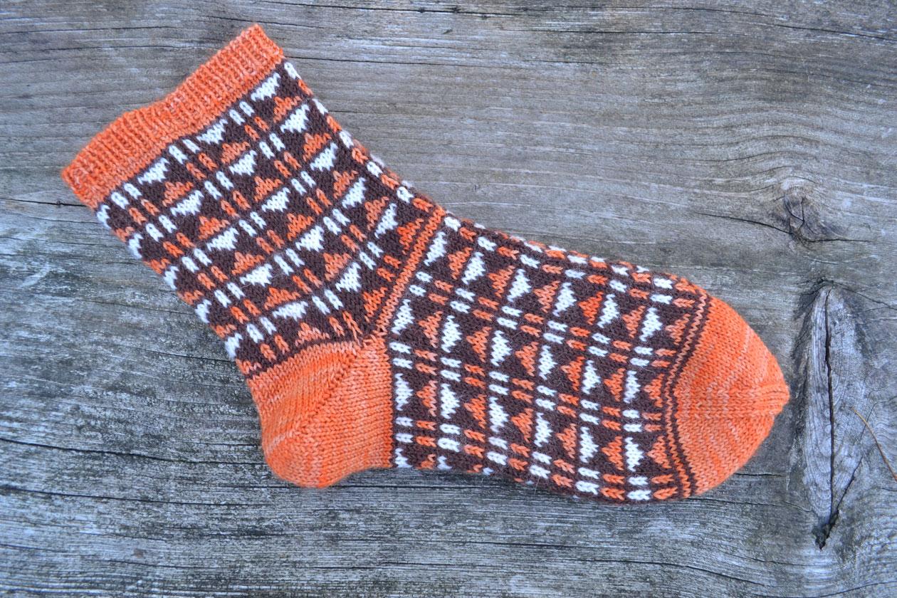 Twiggy socka