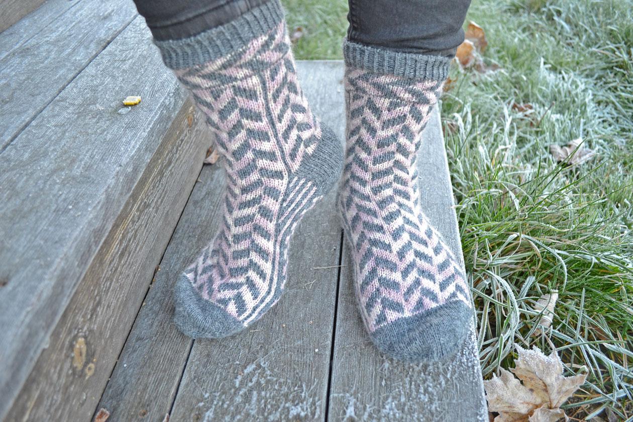 Lana vitis sock